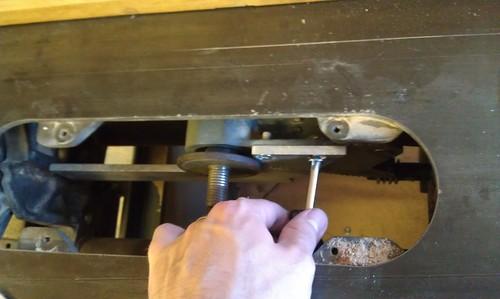 Mounting bracket test fit