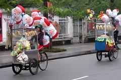Santa Head Bike