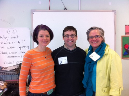 Becoming Risk-taking Educators w/ @wendye40 & @hadleyjf 29/366/2012 #366project #educon