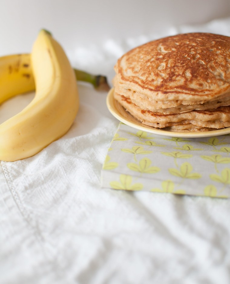 Whole Wheat Banana Pancakes 6