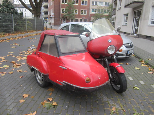 BMW and sidecar