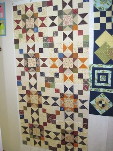Hug Quilt in Progress