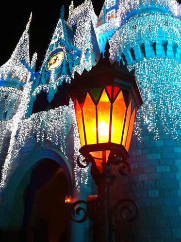 WDW Castle Lights