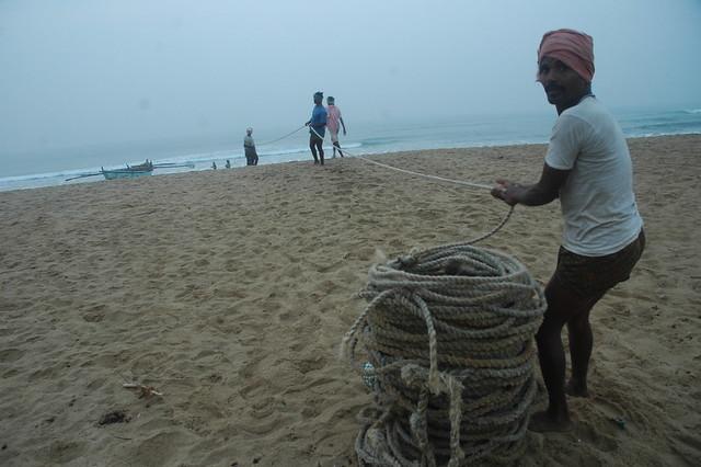 Fishermen, Puri, Odisha, India