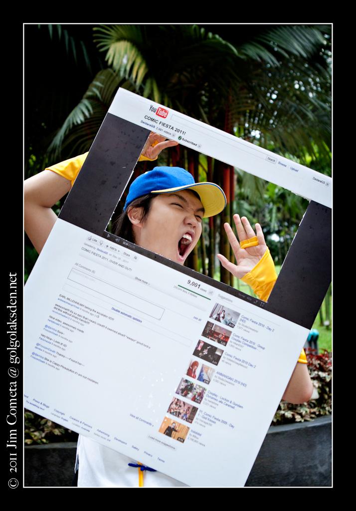Comic Fiesta 2011 Day 1 Cosplay Golgolak's Den magnetic-rose.net