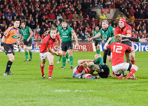 Tomas O'Leary scored a great individual try copy