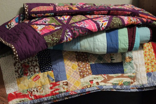 family's quilts
