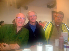 Leon - Mick and Ian at Carat's cafe 01-01-2012