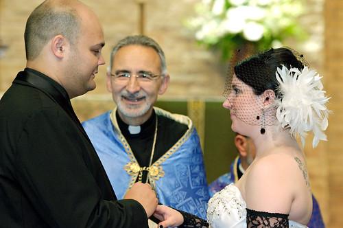 Armenian Wedding Ceremony - Exchange of Rings