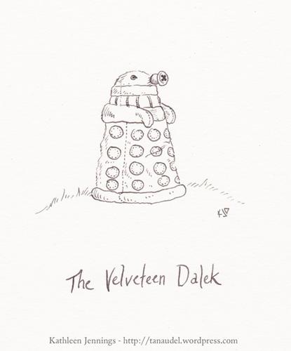 The Velveteen Dalek