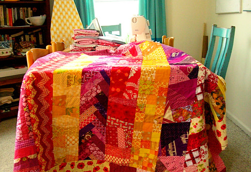 Finishing up the Quilt