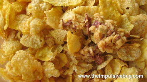 Post Honey Bunches of Oats Banana Blueberry Fruit Blends Closeup