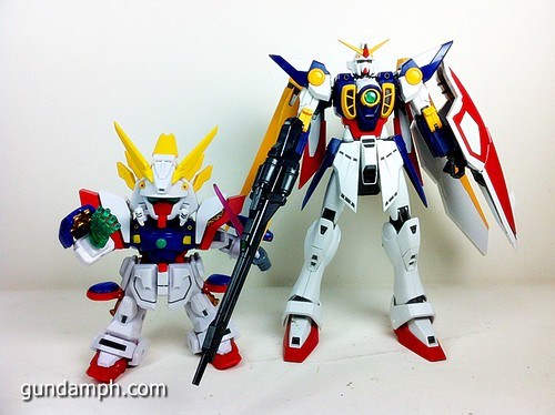 SD Archive Shining Gundam Unboxing Review (46)