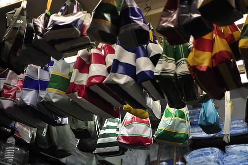台東帆布行:有條紋色彩的塑膠帆布