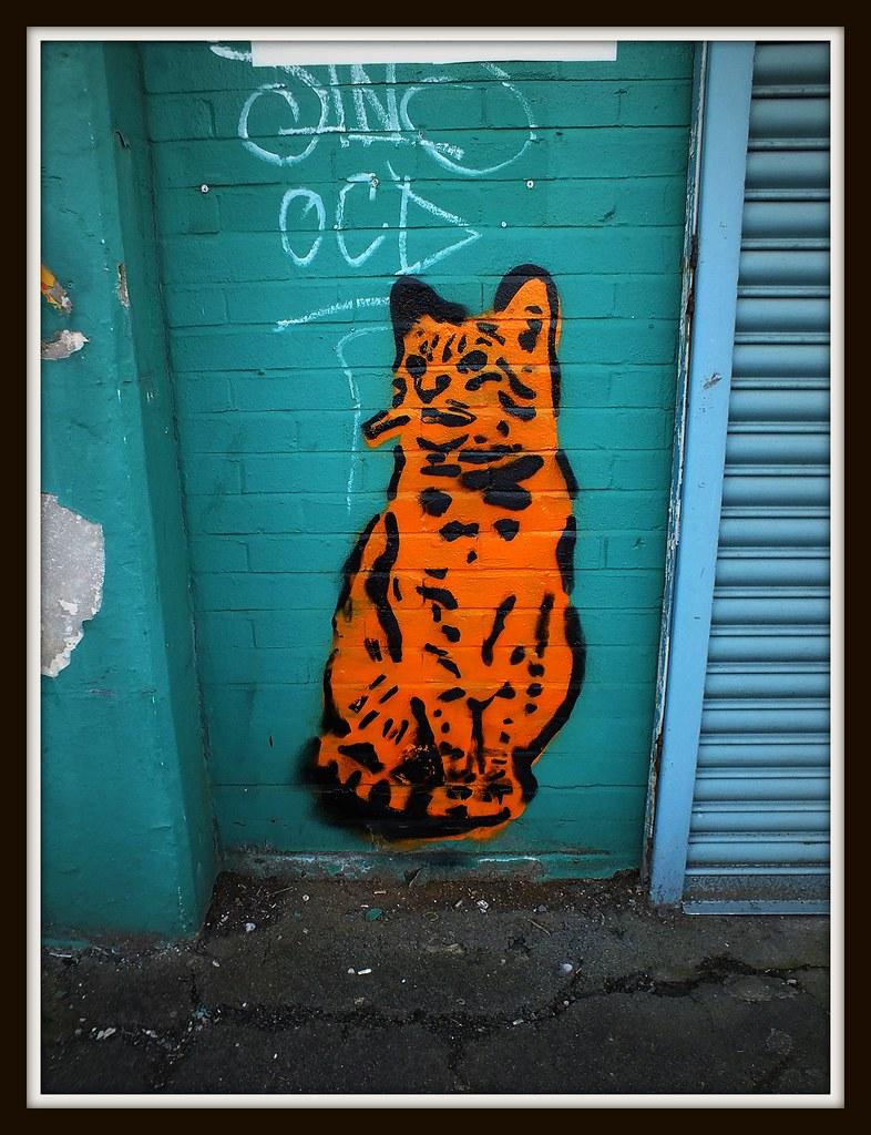 Lembo Cat street art