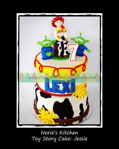 Norie's Kitchen - Toy Story Cake - Jessie by Norie's Kitchen