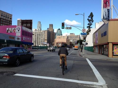 Main St. bike lanes