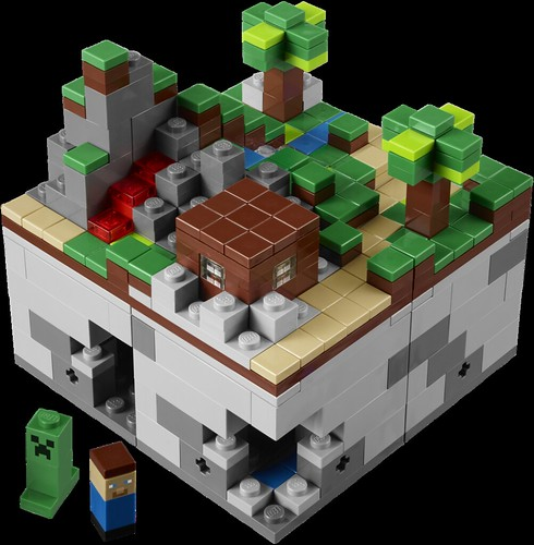 LEGO Minecraft (1)