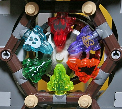 LEGO Monster Fighters crystals