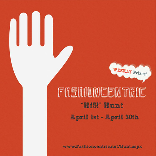 Fashioncentric Hi5 Hunt