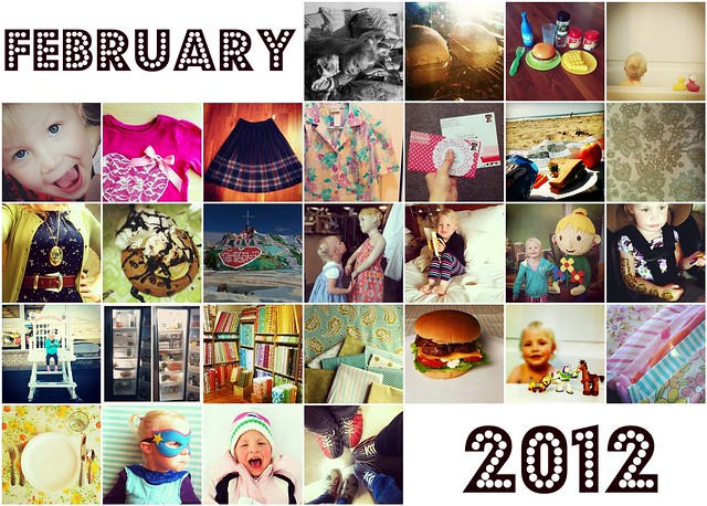 Feb Instagram Mosaic