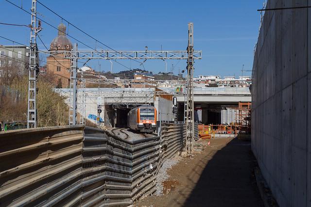 Zona puente de Sant Adrià lado montaña - 15-02-12