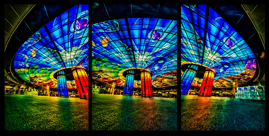 Dome of Light Triptych