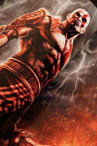 Kratos en todo su esplendor