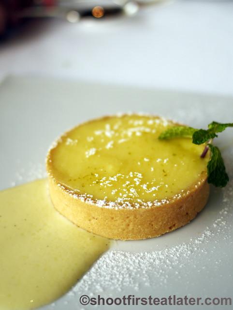 Grissini Hong Kong- limoncello tart