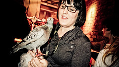 Pigeon Lady at CultureCode Salon by Documentally.
