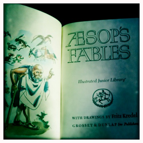 page captures: AESOP'S FABLES