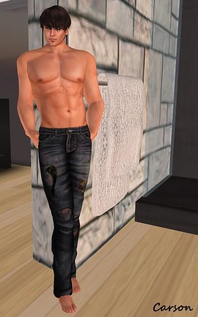 Yasum - Anti Valentines GRUNGE Jeans male