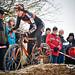 Sabrina Stultiens tijdens de Cyclocross Heerlen in het Hellegat