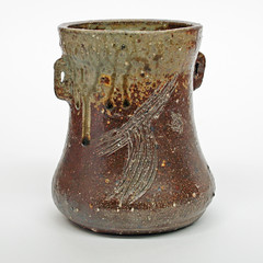 'JM'/ Wood-fired vase