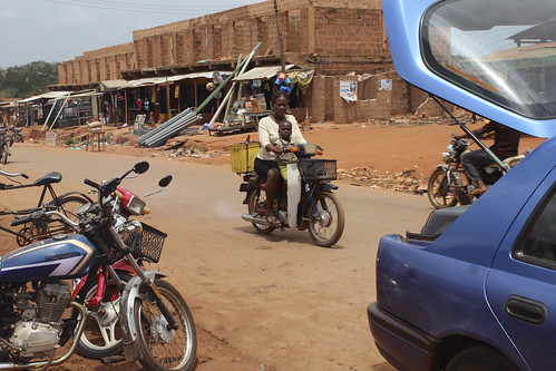Iheaka Village Enugu State Nigeria Female Motorcyclist by Jujufilms