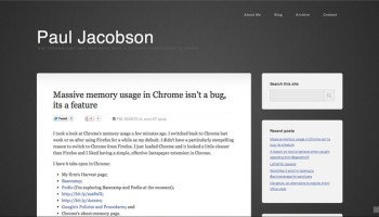 Paul Jacobson's Hub - in Chrome 17 stable