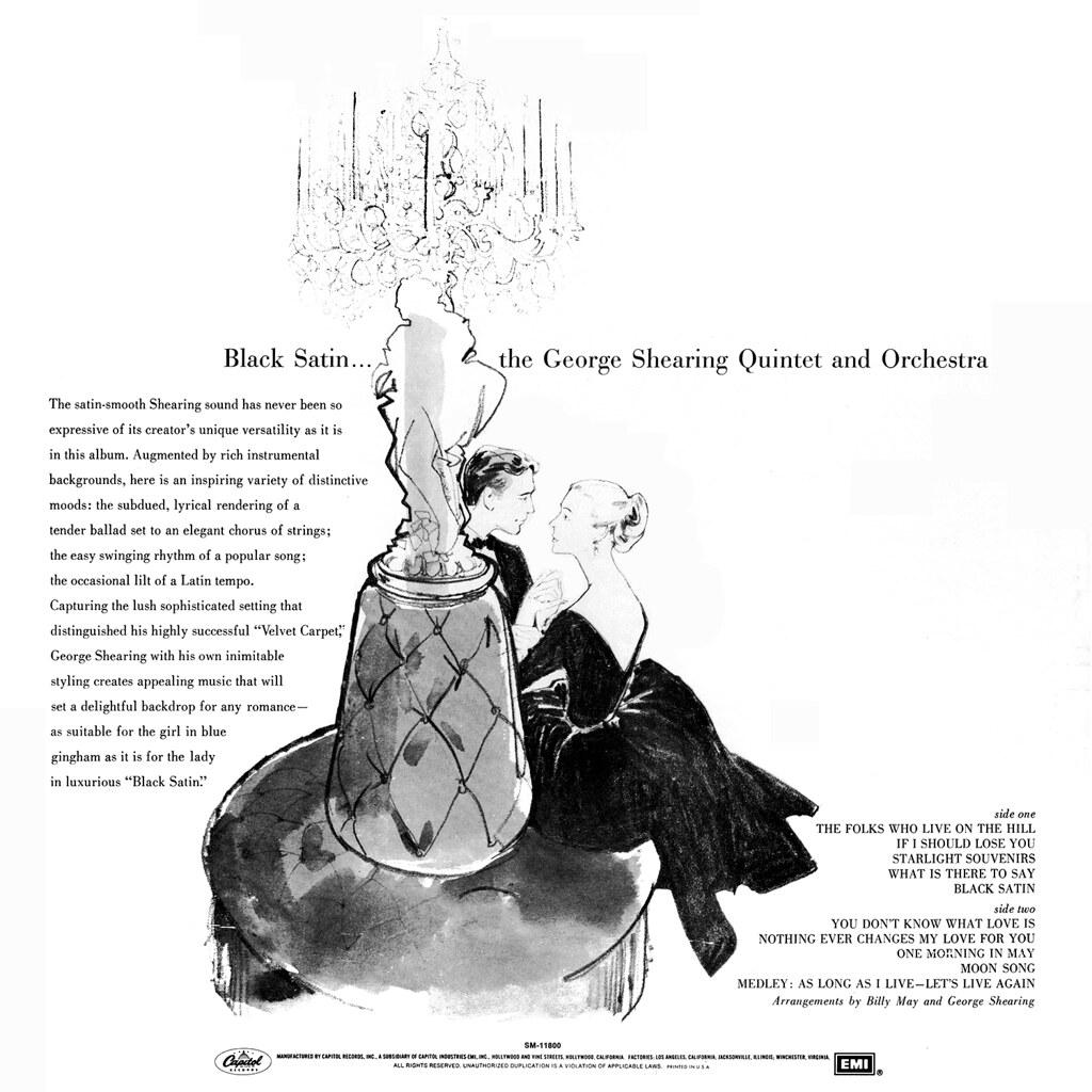 George Shearing - Black Satin