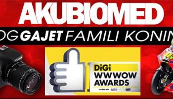 Undi blog AkuBiomed untuk DiGi WWWOW Awards 2012 bermula 23 Apr - 13 May