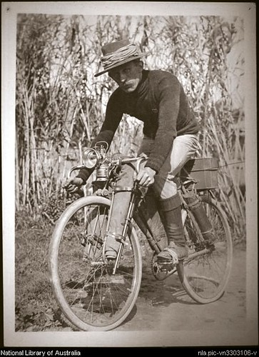 early bikepacker