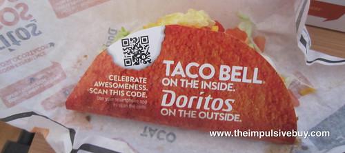Taco Bell Doritos Locos Taco Sleeve