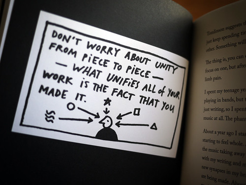 "Steal Like An Artist - ""Don't worry about unity..."" by Austin Kleon"