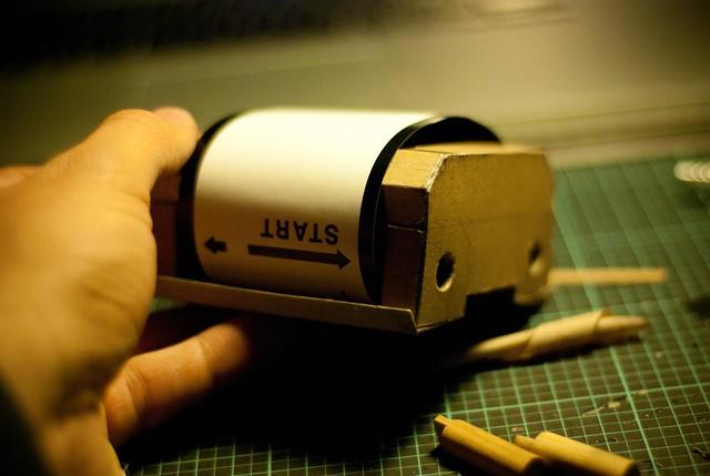 El Cubo (Pinhole Cube Camera)