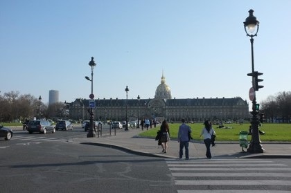Les Invalides from afar