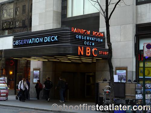 NYC- NBC Observation Deck