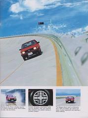 1985 Hyundai Pony Brochure 09