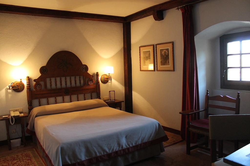 Dormitorio del Parador de Plasencia