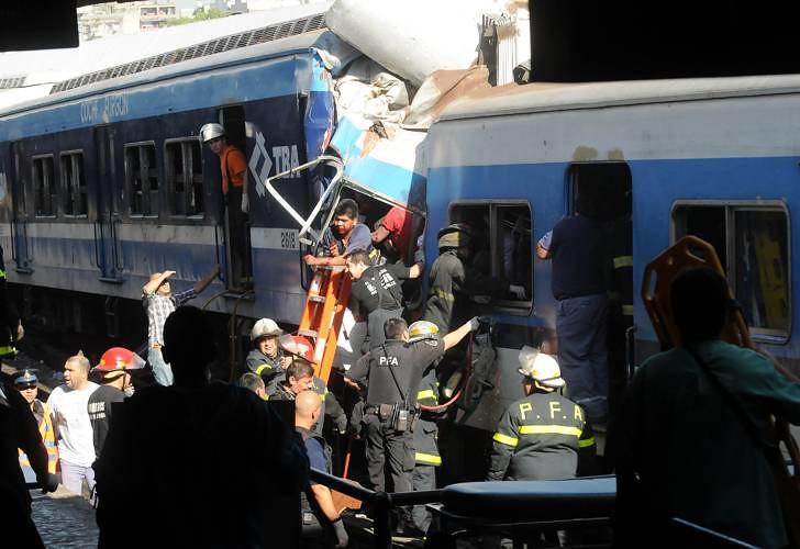 Accidente de tren en Once