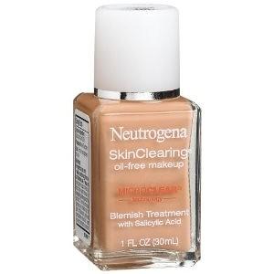 NEUTROGENA skinclearing liquid makeup - Kem nền cho da mụn - Made in USA - 330.000 VNĐ