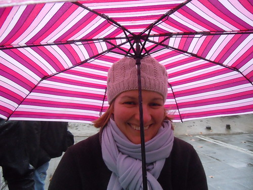 queueing for Snow Patrol in the rain