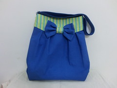 Mya bag in mighty blue